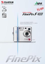 Fujifilm FINEPIX F401 4.0MILL. F401 User Manual