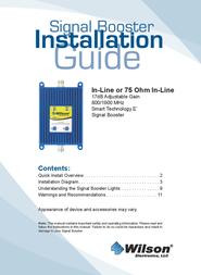 Wilson Electronics Three way Splitter 859980 User Manual