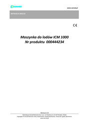 Rtc Ice maker 1 l R00324 Data Sheet