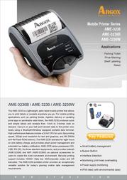 Argox AME-3230B AME3230B Leaflet