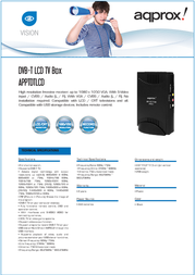 Approx APPTDTLCD Leaflet