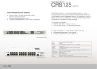 Mikrotik CRS125-24G-1S-RM Leaflet
