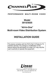 Linear Welder 3015 User Manual