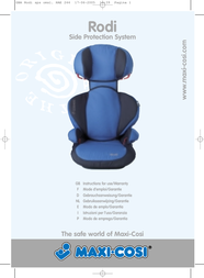Maxi-Cosi safety seat User Manual