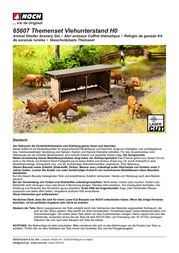 Noch 65607 H0 cowshed theme set 65607 Data Sheet