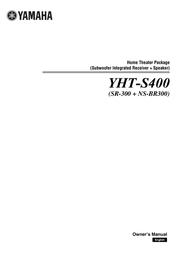 Yamaha YHT-S400 AYHTS400BL User Manual