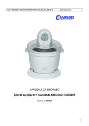 Clatronic ICM 3225 Data Sheet