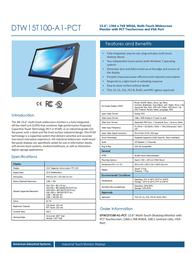 AIS DTW15T100-A1-PCT Leaflet
