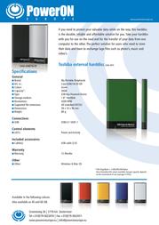 PowerOn HT-18A CASE-USB218-20GR Leaflet