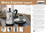 Bialetti Moka Express 0001168 Leaflet