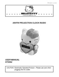 Hello Kitty KT2064 User Manual