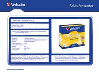 Verbatim VB-DPW44JC 43229 Leaflet
