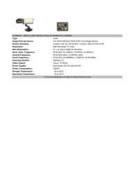 COP-USA cc25nvd Specification Guide
