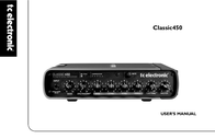 TC Electronic classic450 User Guide