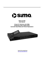 Sima VS-560 User Manual