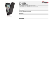 Phonix IP4G05BL Leaflet