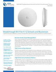 Amer Networks WAP334NC Data Sheet
