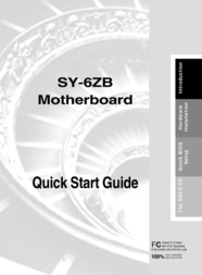 Soyo Motherboard SY-6ZB User Manual