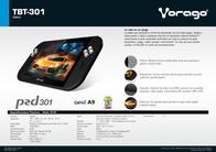 Vorago 301 TBT-301 Leaflet