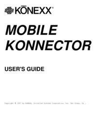 Konexx MOBILE KONNECTOR User Manual