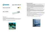 Somfy SGS 501 Swing Gate Motor 2400781 Data Sheet