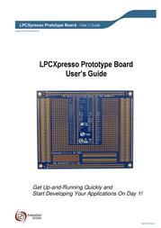 Embedded Artists LPCXPRESSO PROTOTYPE BOARD EA-XPR-020 EA-XPR-020 Data Sheet