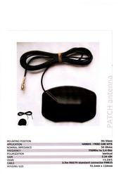 ConiuGo 300303304 GSM Antenna MMCX connector 300303304 Data Sheet