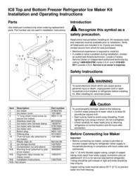 Amana D7824703 User Manual