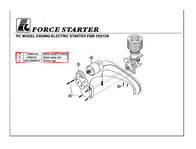 Force Engine Spare part Starter cable for FORCE Motors (S-27-01) S-27-01 Parts Catalog
