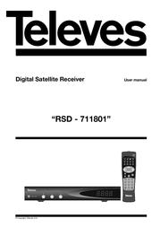 Televes RSD7118 7118 User Manual