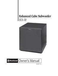 Outlaw Audio ECS-10 User Manual