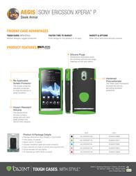 Trident Aegis AG-XPERIAP-BL Leaflet