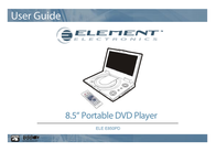 ELEMENT Electronics ELE E850PD User Manual