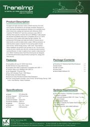 MUKii TIP-230U2-BK Leaflet