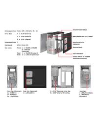 Athenatech ATX Mid Tower Black w/400W PS A4106BB.400 Leaflet