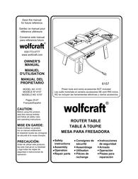 Wolfcraft 6157 用户手册