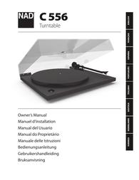 NAD C 556 Owner's Manual