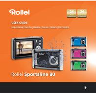 Rollei Since 1920 Digital camera 8 MPix Green Full HD Video, Shockproof, Underwater camera, Dustproof 5010052 User Manual