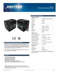 Amstron AUP-11 Leaflet