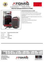 Atomic Accessories DSA.4 Leaflet