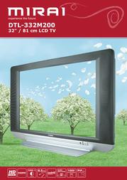 "Mirai 32"" LCD TV DTL-332M200 Leaflet"