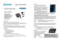 Novitec Car voltmeter 12 V Spannungsmesser APM-3 USB port 705APM3 Leaflet