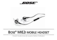 Bose MIE2i Owner's Manual