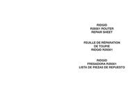 Ridgid R29301 User Manual