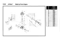 Force Engine Spare part Jet needle kit (S-12-01) S-12-01 Data Sheet