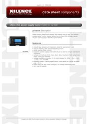 Xilence ZUB-XP-TEST Leaflet