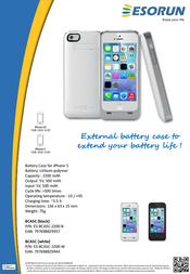 Esorun ES-BCA5C-2200-W Leaflet