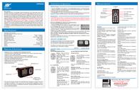 Roadmaster Hands Free Bluetooth Car Kit MP3/WMA player & FM modulator VRFM9BT Leaflet