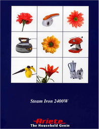 Ariete Steam Iron 6207 User Manual