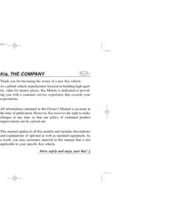 Kia Sorento 2014 Owner's Manual